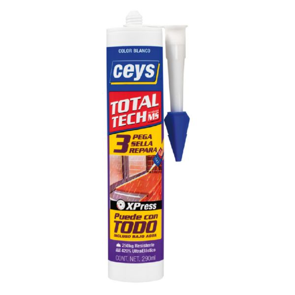 CEYS MS-TECH BLANCO CARTUCHO 290ML (UND)