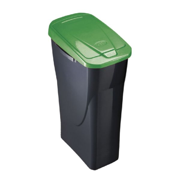 Cubo Ecobin 25l. Tapa verde